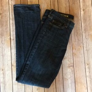 J Crew Matchstick Jeans - Size 28R